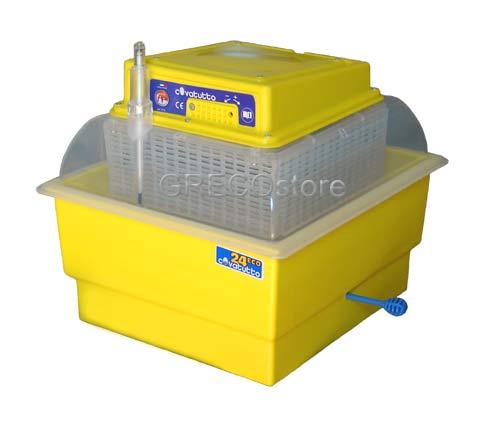 Incubatrice per uova mod covatutto 24 eco semiautomatica for Tartarughe vaschetta