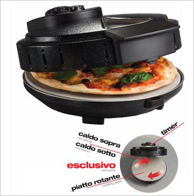 Forno rotante elettrico per pizzeria