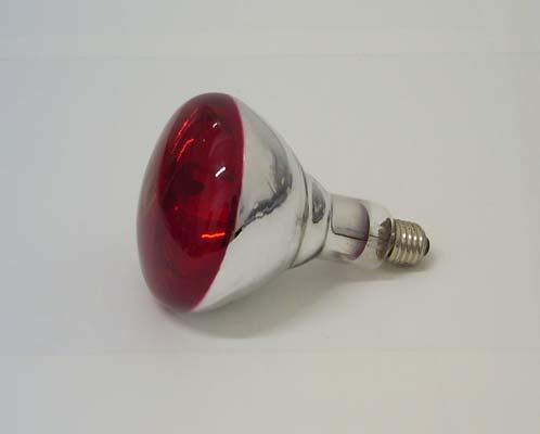 G r e c o store lampada a raggi infrarossi br125 ir 150 for Lampada infrarossi riscaldamento pulcini